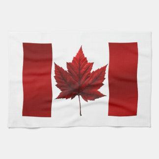 Canada Flag Souvenir Towel Canada Tea Towel Decor