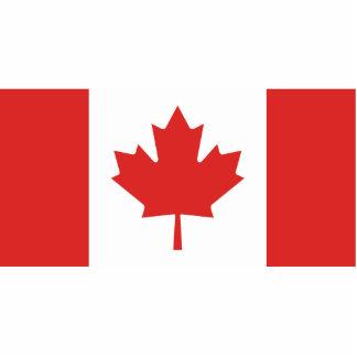Canada Flag Statuette