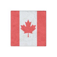 Canada Flag Stone Magnet at Zazzle