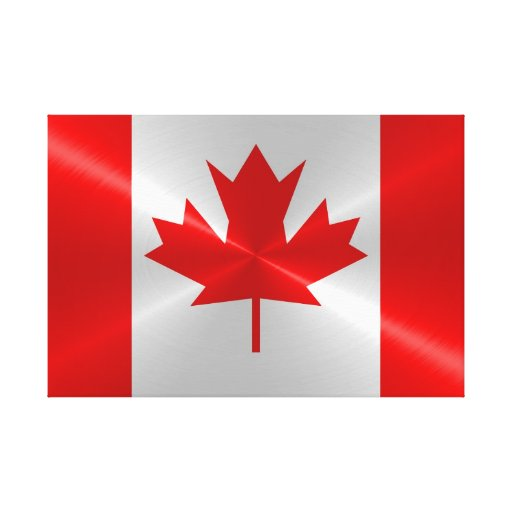 Inventive image in printable canadian flag