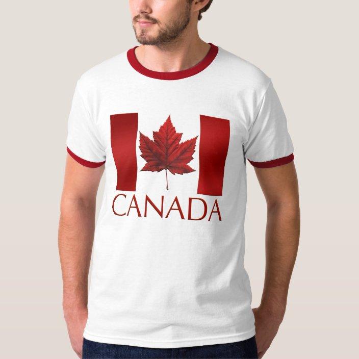 Canadian Maple Leaf Retro Patriotic Canada Day Cute Infant Kids T-Shirt