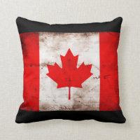 Canada Flag Throw Pillow