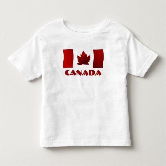 Canada Flag Toddler / Baby T-shirt Retro Souvenir