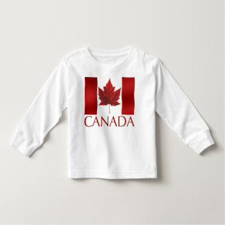 Canada Flag Toddler Shirt Canada Baby Long Sleeve