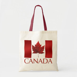 Canada Flag Tote Bag Environmental Canada Tote Bag
