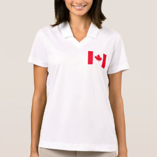 Canada Flag Polo Shirts