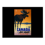 Canada For Big Game Postcard