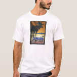 Canada for Big Game Vintage Travel Poster T-Shirt