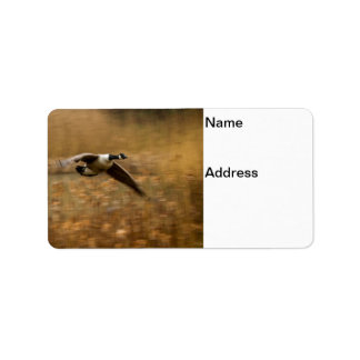 Canada Geese Address Label