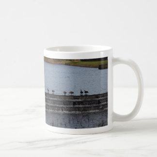Canada Geese All In A Row Coffee Mug
