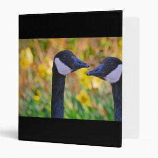 Canada Geese and Daffodils Binders