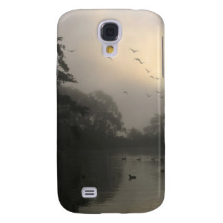 Canada Geese and Morning Fog Galaxy S4 Covers