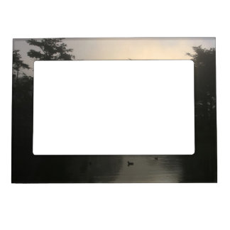 Canada Geese and Morning Fog Magnetic Frame