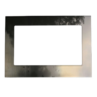 Canada Geese and Morning Fog Magnetic Picture Frame