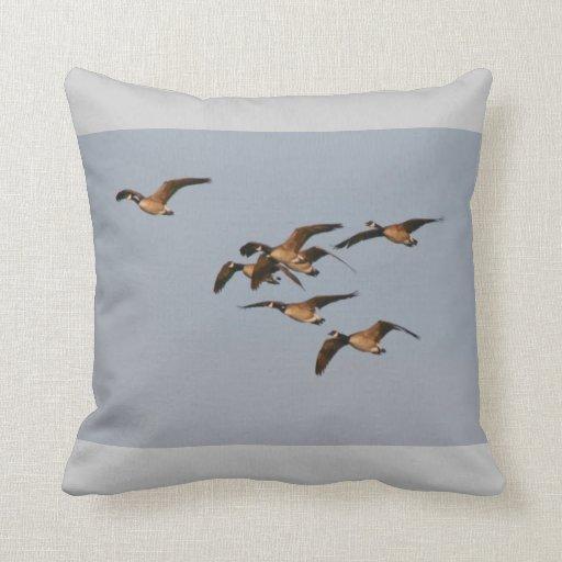 Canada Geese Birds Pillow