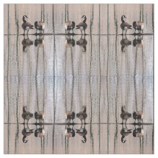 Canada Geese Fabric