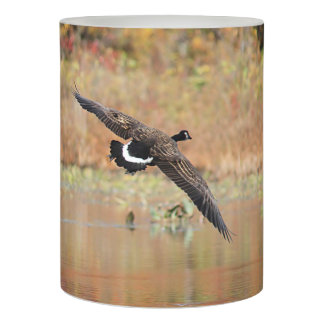 Canada Geese in Flight Flameless Candle