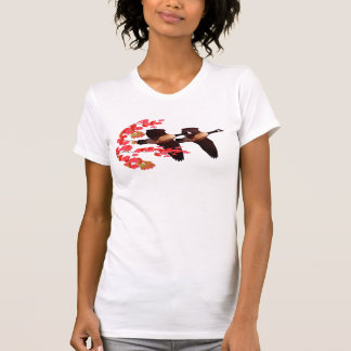CANADA GEESE ON THE WING T-Shirt