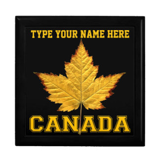 Canada Gift Box Custom Varsity Canada Jewelry Box