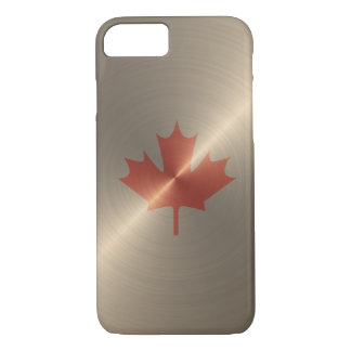 Canada Gold Maple Leaf iPhone 7 Case