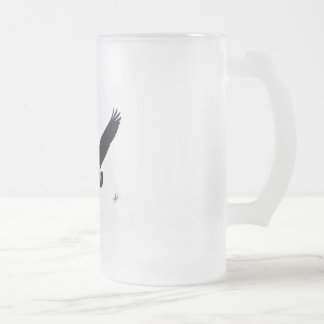Canada Goose 9R005D-123 Frosted Glass Beer Mug
