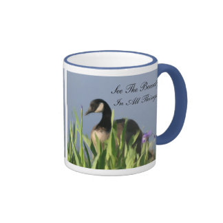 Canada Goose Beauty Inspirational Ringer Coffee Mug