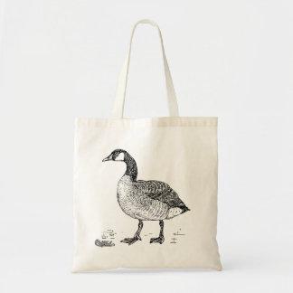 Canada Goose Bird Art Budget Tote Bag