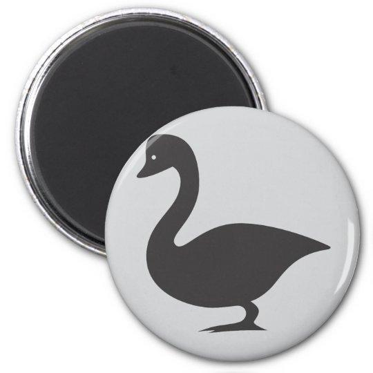 Canada Goose Bird Icon Magnet