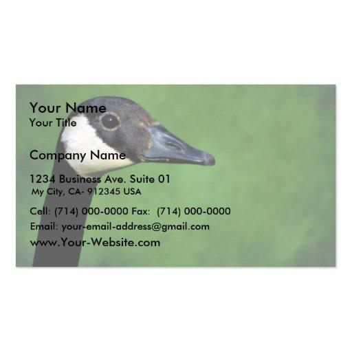 Canada goose business cards