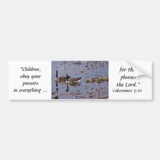 Canada Goose Family Bumper Sticker