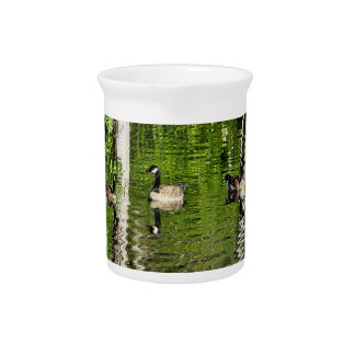 (Canada) Goose Green Drink Pitcher