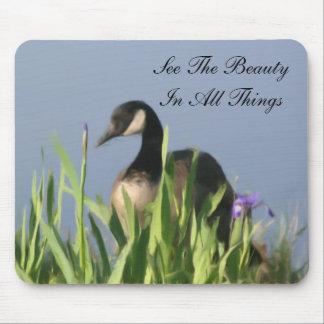 Canada Goose Inspirational Beauty Mousepad