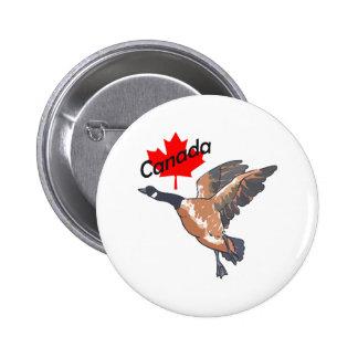 CANADA GOOSE MAPLE LEAF BUTTON