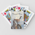 CANADA GOOSE ON A SNAG DECK OF CARDS