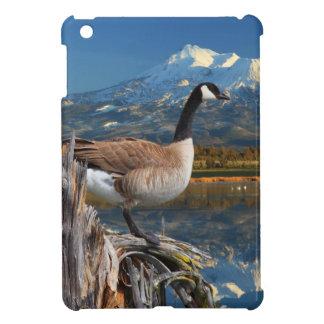 CANADA GOOSE ON THE LAKE iPad MINI CASES