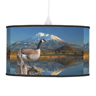 CANADA GOOSE ON THE LAKE CEILING LAMPS