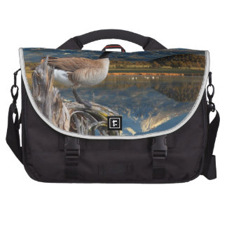 CANADA GOOSE ON THE LAKE LAPTOP COMMUTER BAG