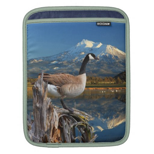 CANADA GOOSE ON THE LAKE SLEEVE FOR iPads