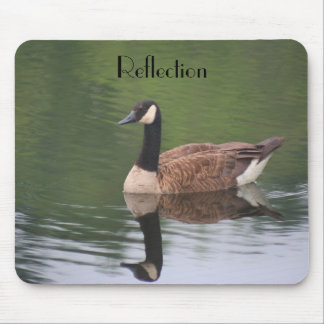 Canada Goose Reflection Inspirational Mousepad
