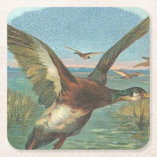 Canada Goose Square Paper Coaster