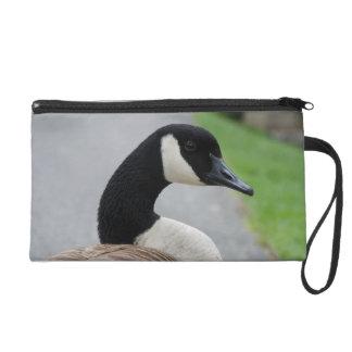 Canada goose wristlet purse