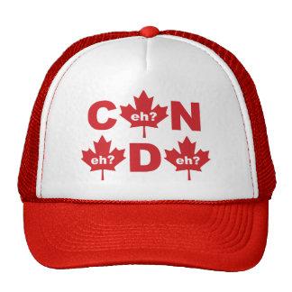 Canadá Gorros Bordados