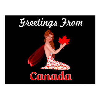 Canada Greetings Pixie postcard