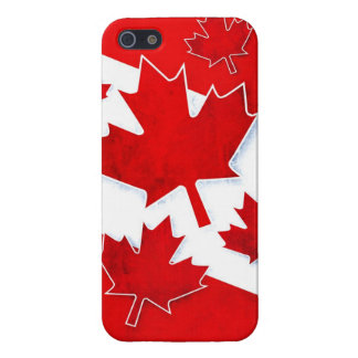 Canada Grunge Case For iPhone SE/5/5s