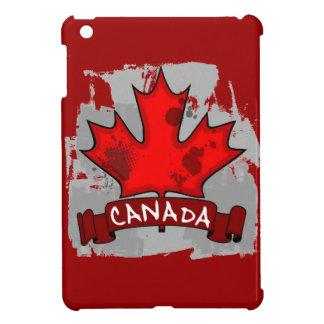 Canada grunge maple leaf ipad mini case