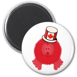 Canada Hat Pom Pom Pal Magnet