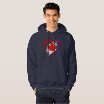 Canada heart hoodie