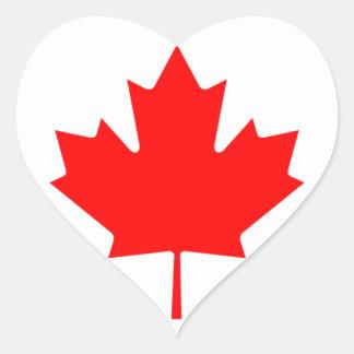 canada heart sticker