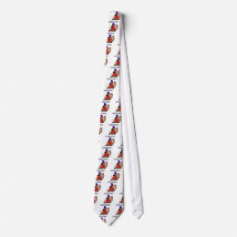 Canada Hockey Beaver.png Neck Tie