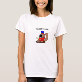 Canada Hockey Beaver.png T-Shirt